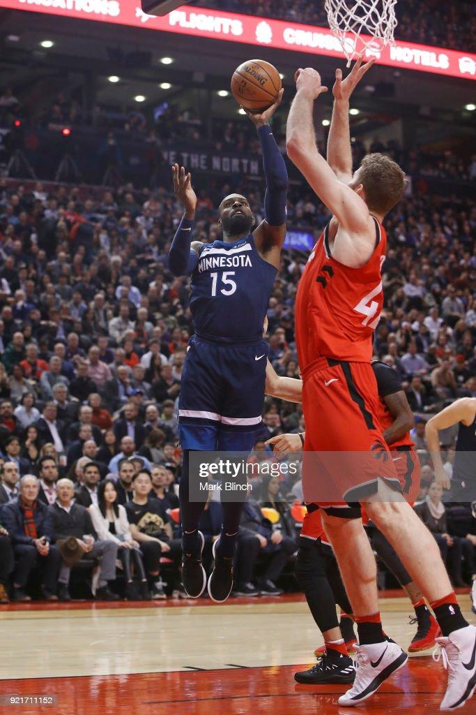 Minnesota Timberwolves v Toronto Raptors : Foto di attualità