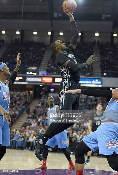 Shabazz Muhammad of the Minnesota Timberwolves shoots the ball against the Sacramento Kings during an NBA basketball game at Sleep Train Arena on...
