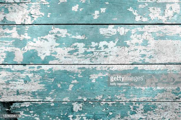 shabby chic wood texture background - mint green stock pictures, royalty-free photos & images