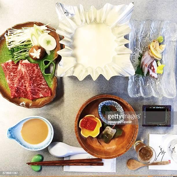 Shabu shabu, traditional Japanese cuisine