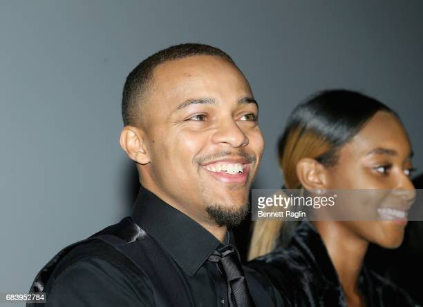 Shad 'Bow Wow' Moss speaks at the WE tv's Growing Up Hip Hop Atlanta premiere screening event on May 16 2017 in New York City