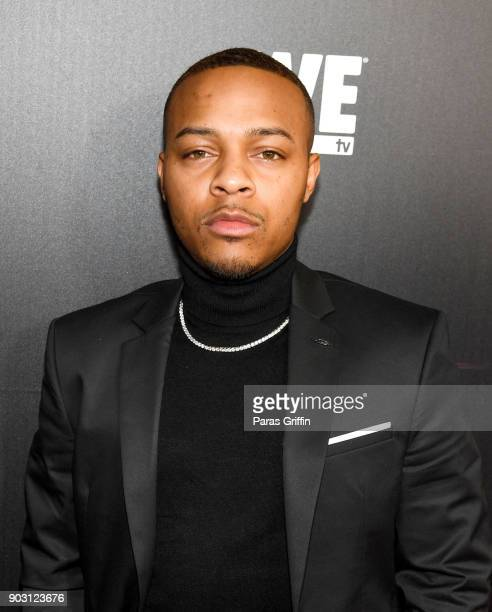 Shad Moss aka Bow Wow attends 'Growing Up Hip Hop Atlanta' season 2 premiere party at Woodruff Arts Center on January 9 2018 in Atlanta Georgia