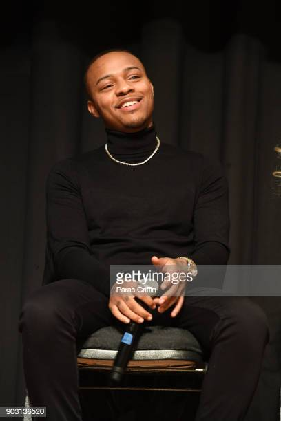 Shad Moss aka 'Bow Wow' attends 'Growing Up Hip Hop Atlanta' season 2 premiere party at Revel on January 9 2018 in Atlanta Georgia