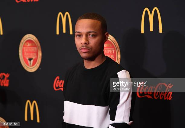 Shad Moss aka Bow Wow attends the 26th Annual Trumpet Awards at Cobb Energy Performing Arts Center on January 20 2018 in Atlanta Georgia