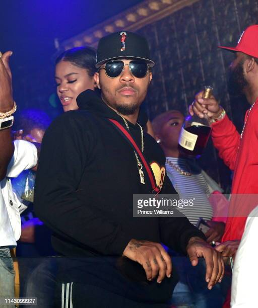 Shad Moss attends a Party at Allure on April 16 2019 in Atlanta Georgia