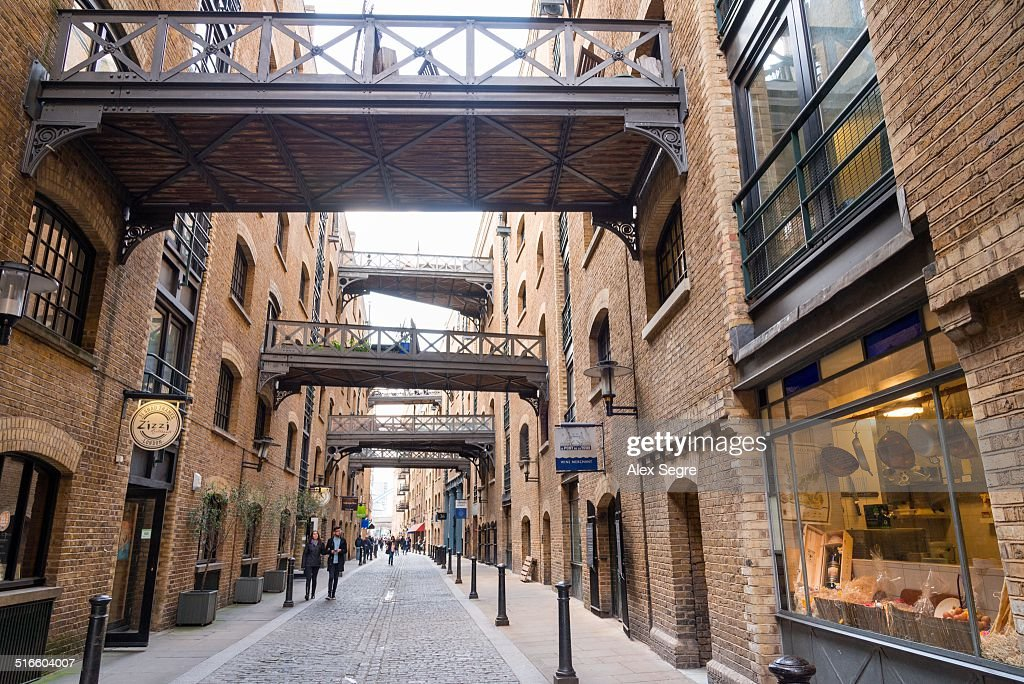 Shad Thames Warehouse Apartments, London, UK