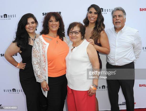 Shadan Saul Guerrero Romina Saul Elvira Onofre Gigi Saul Guerrero and Fabian Saul attend the 6th Annual Etheria Film Showcase held at American...