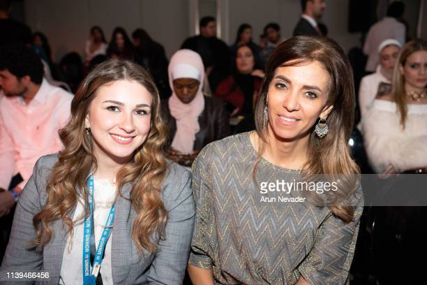 Shaden Khallaf attends Jordan Fashion Week 019 on March 30 2019 at the Kempinski Amman in Amman Jordan