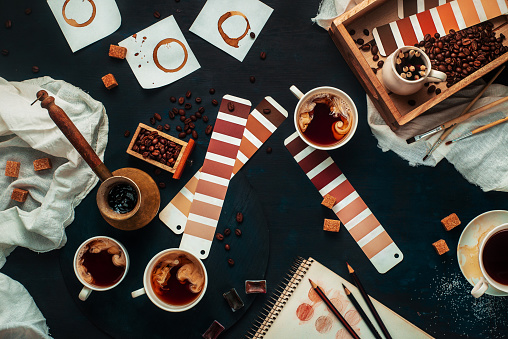 Shades of coffee - gettyimageskorea