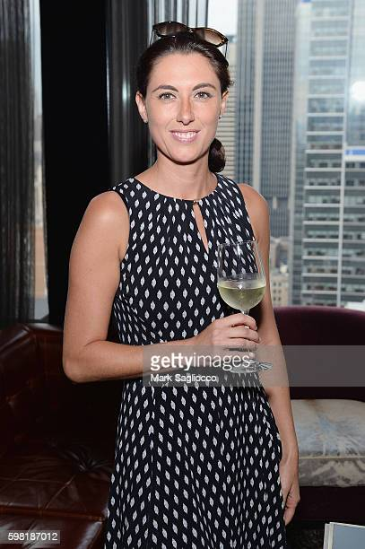 Shadia Khalil attends as DuJour Media celebrates its new home at Space 530 with a rooftop soiree on August 31 2016 in New York City