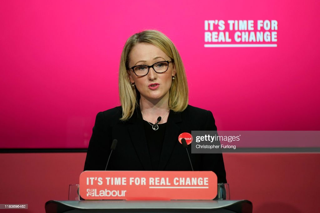 The Labour Party Launch Their Election Manifesto : News Photo
