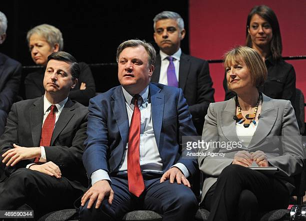 Shadow Cabinet Ministers Douglas Alexander UK's Shadow Secretary for Foreign and Commonwealth Affairs Ed Balls UK's Shadow Chancellor of the...