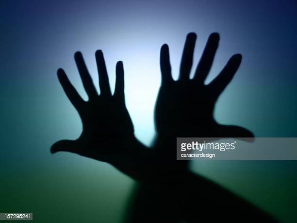 Ombres: Mains croisées Sans mise au point