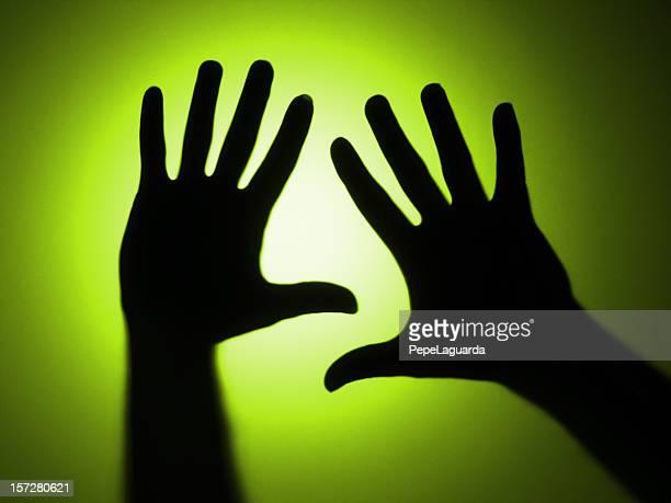 Ombres: Sans mise au point les mains