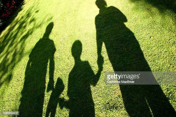 shadow family - catherine macbride stock-fotos und bilder