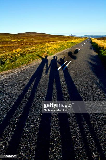 shadow family - catherine macbride stock pictures, royalty-free photos & images