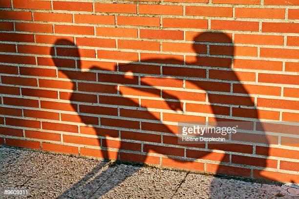 shadow fight - fighting bildbanksfoton och bilder