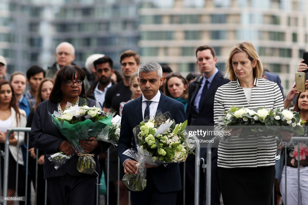 Vigils Are Held For The Victims Of The London Bridge Terror Attacks