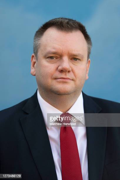 Shadow Home Secretary Nick Thomas-Symonds poses for a photograph on September 19, 2020 in Coventry, England. Shadow Home Secretary and Labour MP for...