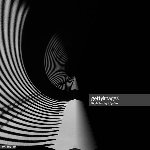 Shadow In Tunnel