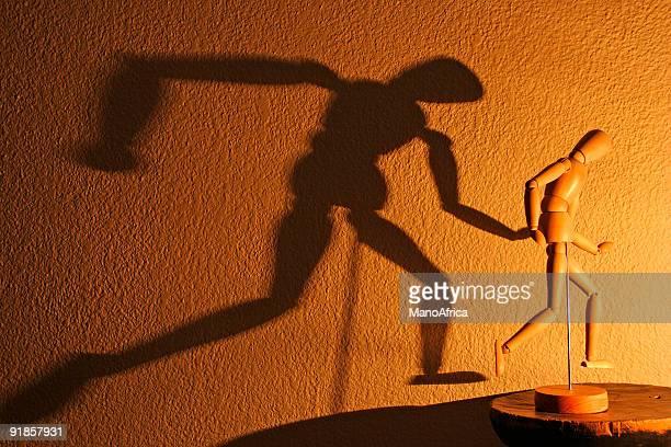 Hombre LScape sombra