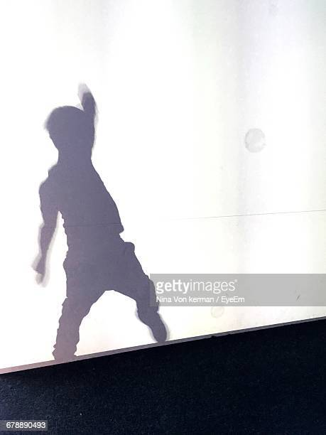 Shadow Of Boy Dancing