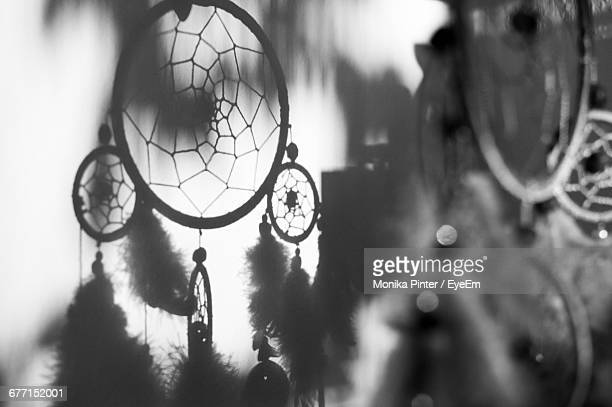 Shadow Of Dreamcatcher On Wall
