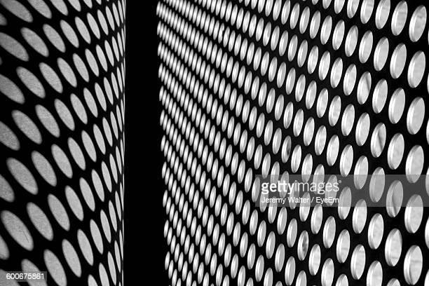 Shadow Of Metallic Structure On Wall