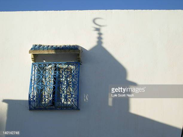 shadow of mosque - sousse stock pictures, royalty-free photos & images