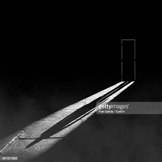 Shadow Of Person On Flooring