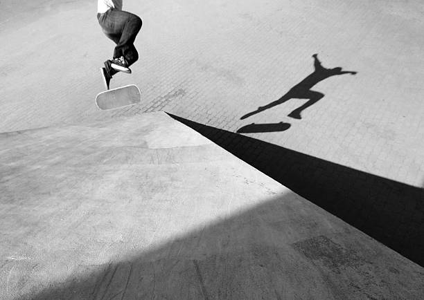 Shadow of Skateboarder