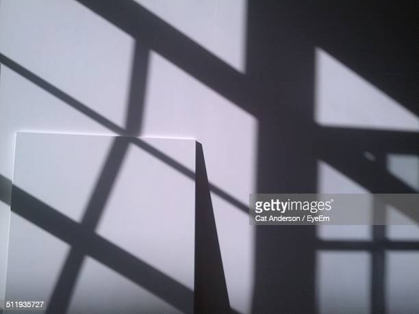 Shadow of window on wall