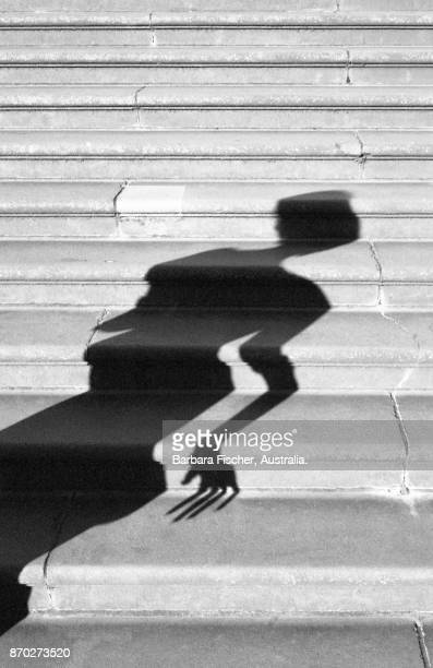 shadow on steps