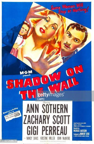 Shadow On The Wall poster US poster from left Gigi Perreau Ann Sothern Zachary Scott 1950
