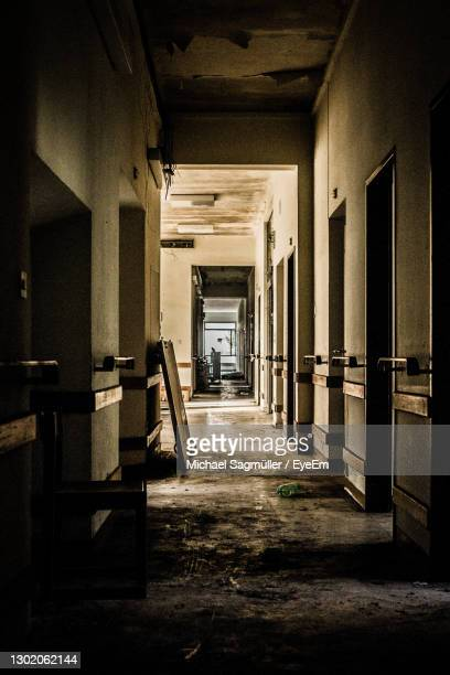 shadow on wall - sankt poelten stock pictures, royalty-free photos & images