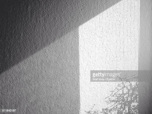 Shadow on wall