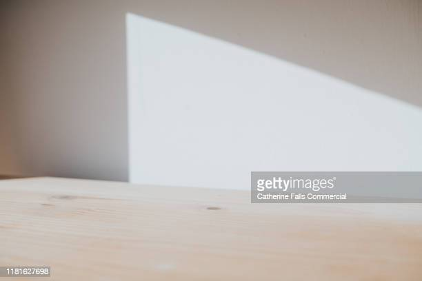 shadow - white wood stock pictures, royalty-free photos & images