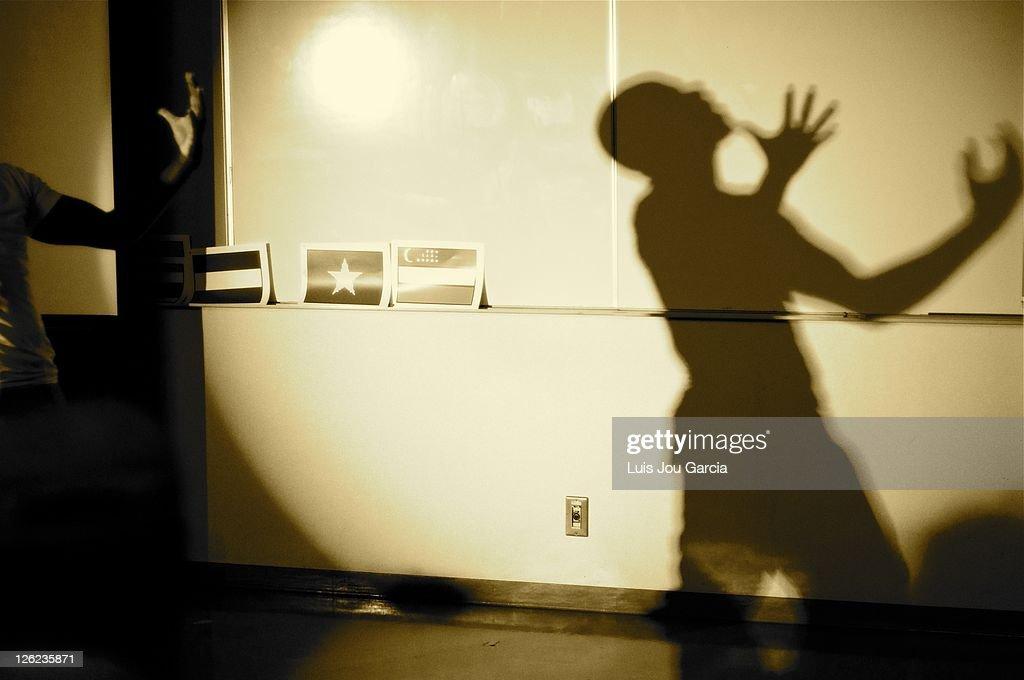 Shadow : Foto de stock
