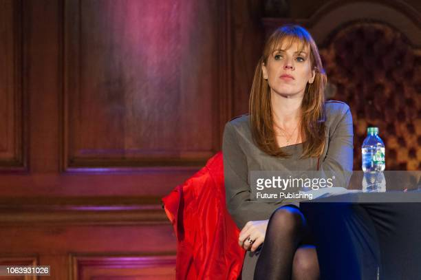 Shadow Secretary of State for Education Angela Rayner MP attends a rally against school cuts in central London The protesters including school...