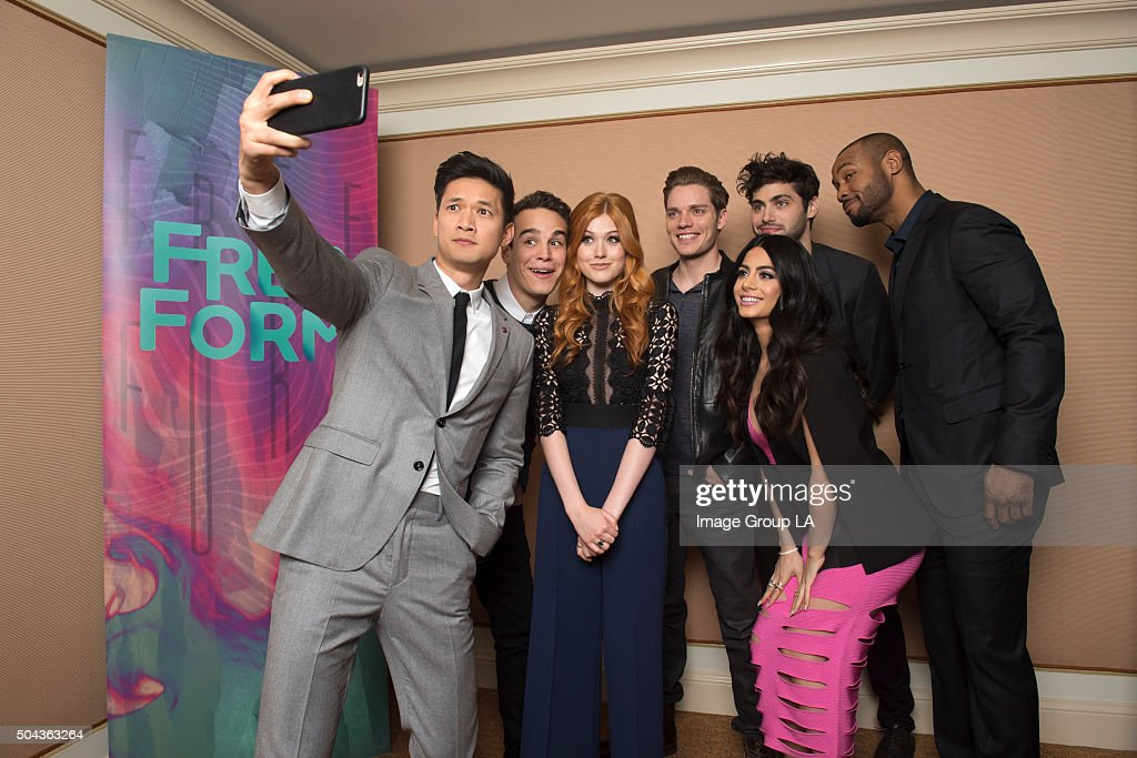 TOUR 2016 - 'Shadowhunters' - The cast and executive producers of 'Shadowhunters' at Disney | ABC Television Group's Winter Press Tour 2016. HARRY