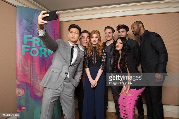 TOUR 2016 Shadowhunters The cast and executive producers of Shadowhunters at Disney | Walt Disney Television via Getty Images Television Group's...