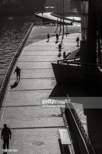 Shadows at the Guggenheim Bilbao