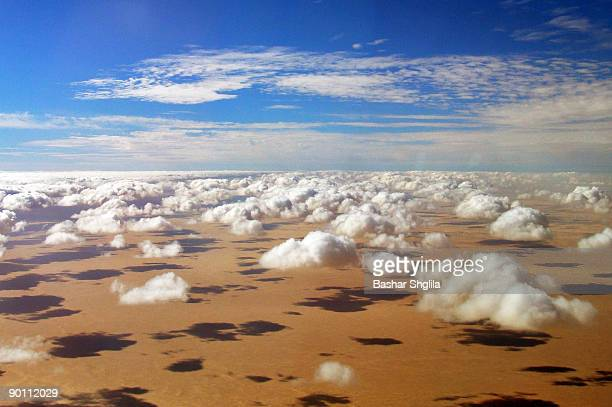 Shadows, Desert, Clouds & Sky