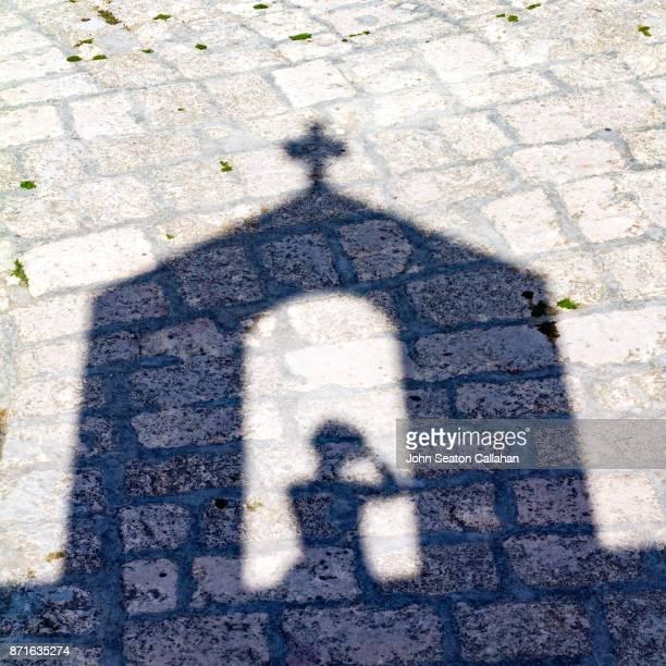 shadows inside fort diu - カトリック ストックフォトと画像