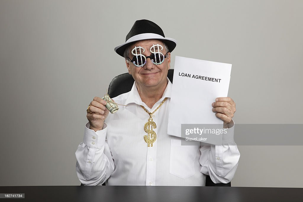 Shady Dealer : Stock Photo
