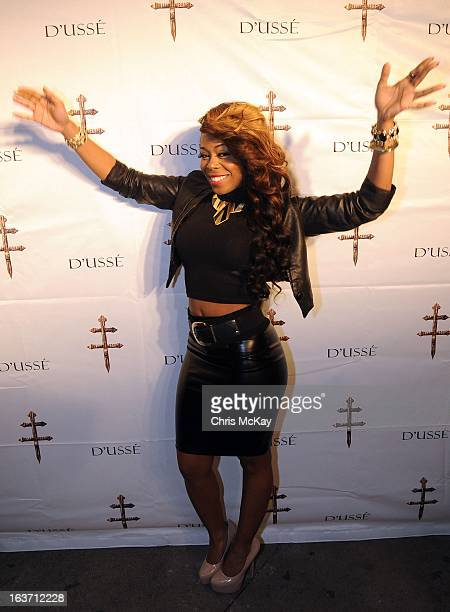 Shae Johnson attends the Official Launch Of Luxury Cognac D'usse at Vanquish Lounge on March 14 2013 in Atlanta Georgia
