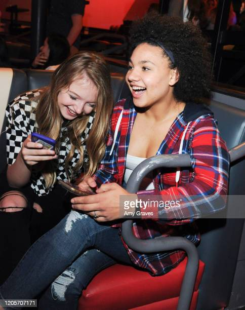 Shae Smolik and Jillian Estell attend Natalie Asatryan's 15th Birthday Benefiting The Unstoppable Foundation on March 6 2020 in Pasadena California