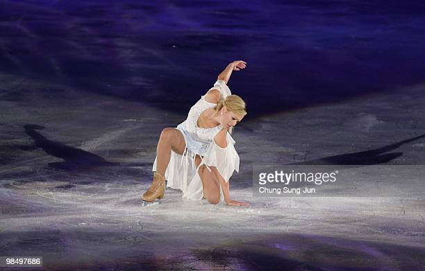 ShaeLynn Bourne of Canada of performs during Festa on Ice 2010 at Olympic gymnasium on April 16 2009 in Seoul South Korea