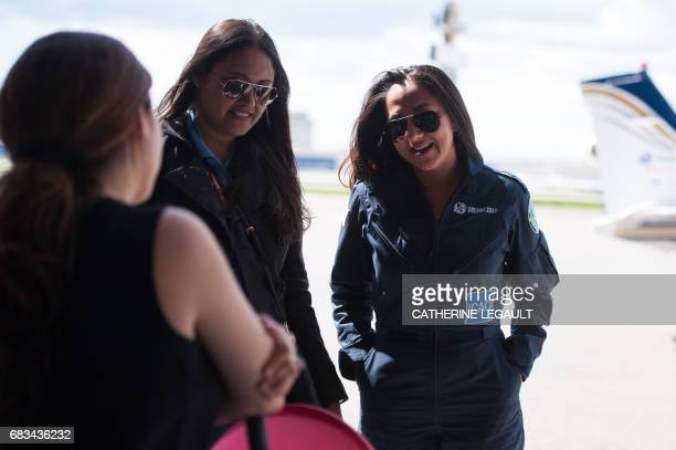 Shaesta Waiz Afghanistans first female certified civilian pilot and a recent graduate of EmbryRiddle Aeronautical University arrives in Montreal...