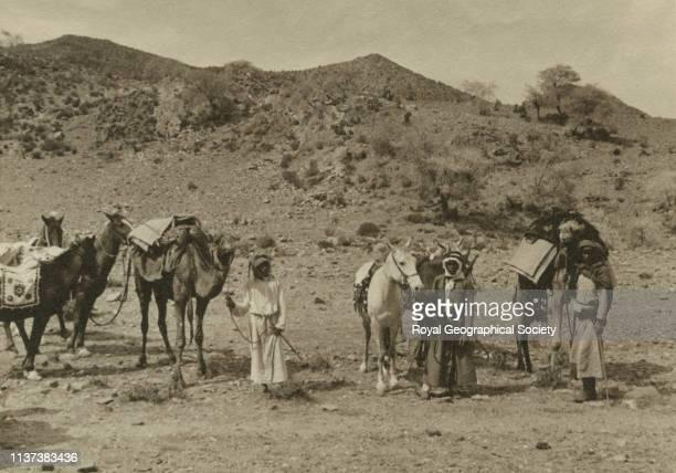 Shafa the return camels alTaif Hijaz Saudi Arabia Artist George Rendel